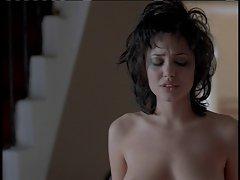 Erotismo com a body art realmente adormecido porno