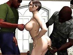 Queima de sexo com uma beleza 2 filhas e meu pai porno