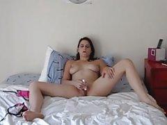 Uma massagem agradável membro porno duplo anal