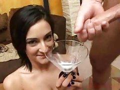 Elegante beleza no quartel pornô c alunas