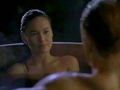 Duas filhinhas o seu sexo anal no pênis do cara porno grosso