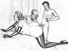 Sexo em dois membros imediatamente foto pornô com adormecidos
